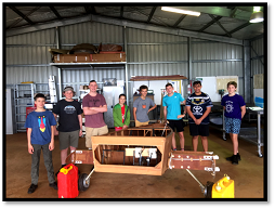 Aircraft Building for Teens Project taken off!!!