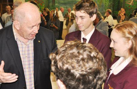 Governor General meets ASHS captains