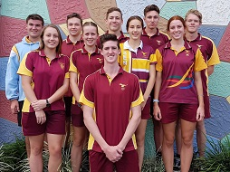 Seniors win NQ All Schools Touch Competition